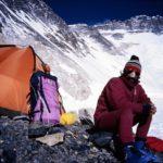 Alek Lwow w C2 Everest - wiosna 1986